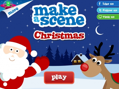 Christmas Scene Drawing For Kids.Happy Teaching Happy Tech Ing Story Problems With Make A